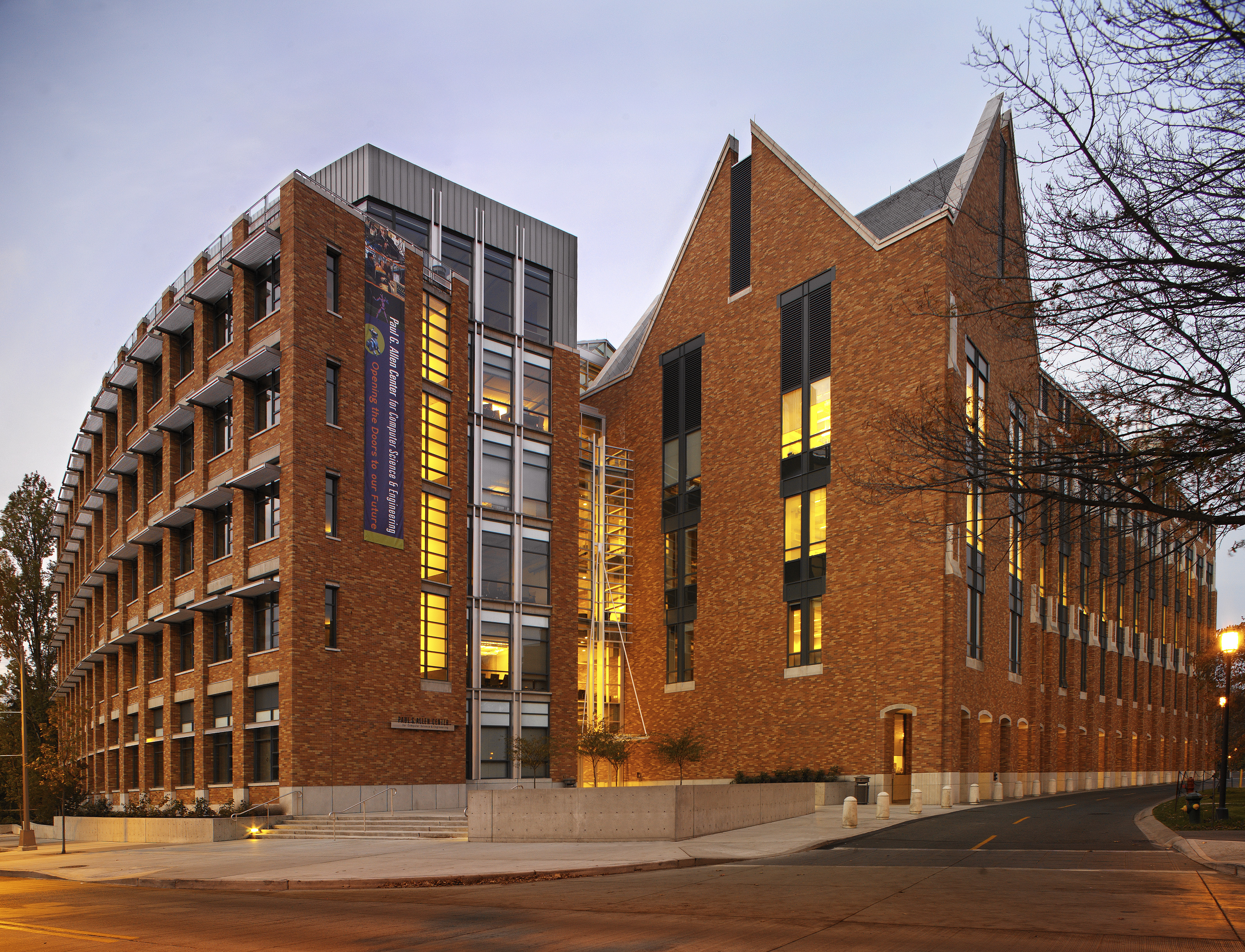 Ed LaCasse Photographs of the Paul G. Allen Center for ...