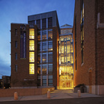 Allen Center, main entrance
